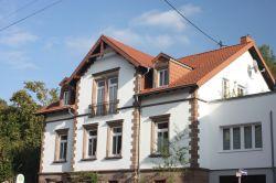 Unser Haus in der Kaiserstr. 38 in Schafbrücke