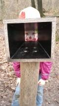 Ein Clown im Ausguck..