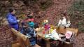 Picknick am Brennenden Berg