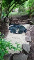 Unser neuer Wasser-Sand-Spielplatz